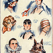 La Vie Parisienne 1924 1850s France F Print by The Advertising Archives
