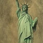 Lady Liberty New York Harbor Print by David Dehner