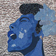 Lady Sings Print by Aisha Lumumba