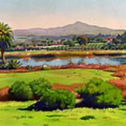 Lago Lindo Rancho Santa Fe Print by Mary Helmreich