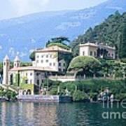 Lake Como Palace Print by Greta Corens