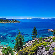 Lake Tahoe Summerscape Print by Scott McGuire