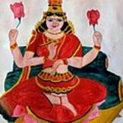 Lakshmi Print by Pratyasha Nithin
