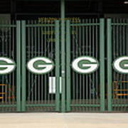 Lambeau Field - Green Bay Packers Print by Frank Romeo