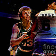 Larry Bird Print by Marvin Blaine