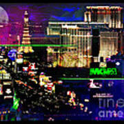 Las Vegas Igniting Your Fire Print by Christine Mayfield