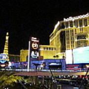 Las Vegas - Planet Hollywood Casino - 12124 Print by DC Photographer