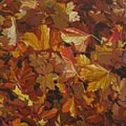 Last Fall In Monroe Print by Thu Nguyen