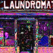 Laundromat 20130731 Print by Wingsdomain Art and Photography