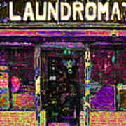 Laundromat 20130731p45 Print by Wingsdomain Art and Photography