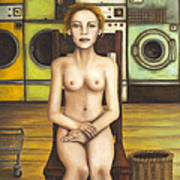 Laundry Day 5 Print by Leah Saulnier The Painting Maniac