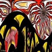 Lava Flow Print by Alec Drake
