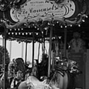 Le Carrousel Print by David Rucker