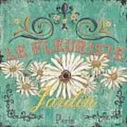 Le Marche Aux Fleurs 6 Print by Debbie DeWitt