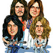 Led Zeppelin Print by Art