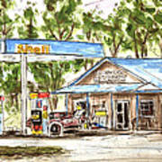 Leipers Fork Market Print by Tim Ross