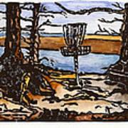 Lewisville Lake Hole Three Print by Jason Reid