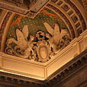 Library Of Congress - Washington Dc - 011316 Print by DC Photographer