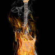 Light My Fire Print by Peter Chilelli