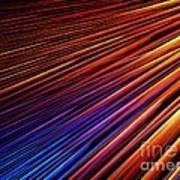 Light Rays Print by Kim Sy Ok