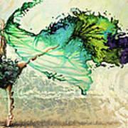 Like Air I Will Raise Print by Karina Llergo