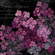 Lilacs Print by Sylvia Thornton