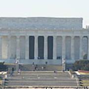 Lincoln Memorial - Washington Dc - 01131 Print by DC Photographer