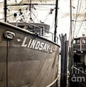 Lindsay L Print by John Rizzuto