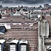 Lisbon Rooftops I Print by Marco Oliveira