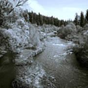 Little Spokane River Beauty Print by Daniel Hagerman