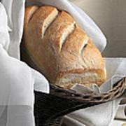 Loaf Of Bread Print by Krasimir Tolev