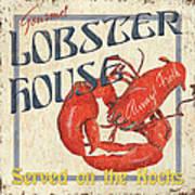Lobster House Print by Debbie DeWitt