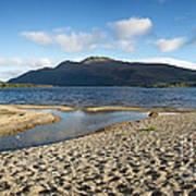 Loch Lomond Pano Print by Jane Rix
