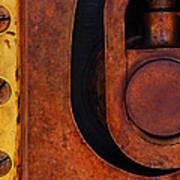 Lock Down Print by Skip Hunt