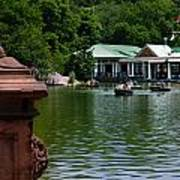 Loeb Boathouse Central Park Print by Amy Cicconi