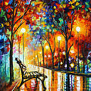 Loneliness Of Autumn Print by Leonid Afremov