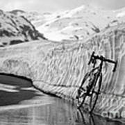 Lonely Bike Print by Maurizio Bacciarini