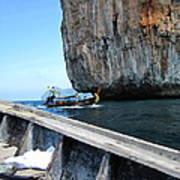Long Boat Tour - Phi Phi Island - 0113124 Print by DC Photographer