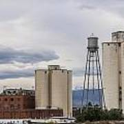Longmont Sugar Mill Print by Aaron Spong