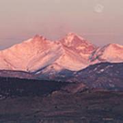 Longs Peak 4 Print by Aaron Spong