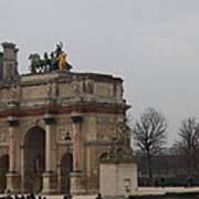 Louvre - Paris France - 011326 Print by DC Photographer