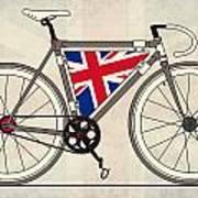 Love Bike Love Britain Print by Andy Scullion