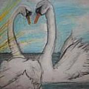 Love Birds Print by Jake Huenink