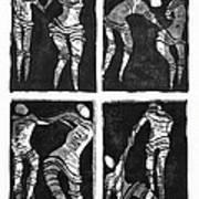 Love Is A Dance Print by Gun Legler