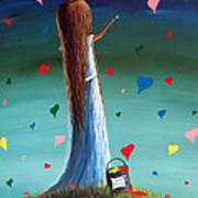 Love Is Beautiful By Shawna Erback Print by Shawna Erback
