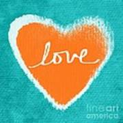 Love Print by Linda Woods