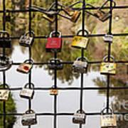 Love Locks Print by Juan Romagosa