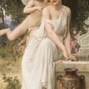Loves Whisper Print by Charles Lenoir
