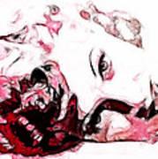 Lucille Ball Print by D Walton