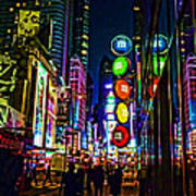m and m store NYC Print by Jeff Breiman